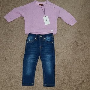 Nwt Seven for all Mankind Outfit